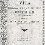 copertina libro -breve vita della serva di dio - P.Felice e M. Caruso - anno 1891